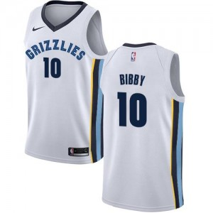 Maillot Basket Mike Bibby Grizzlies Nike Association Edition Enfant Blanc #10