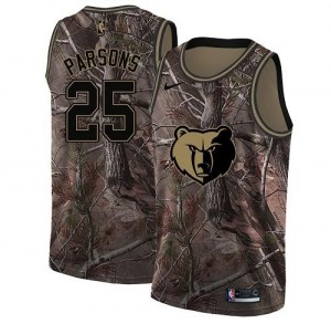 Maillot Parsons Memphis Grizzlies Nike Realtree Collection Enfant Camouflage No.25
