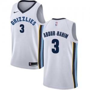 Maillot Basket Shareef Abdur-Rahim Memphis Grizzlies Association Edition Nike No.3 Enfant Blanc