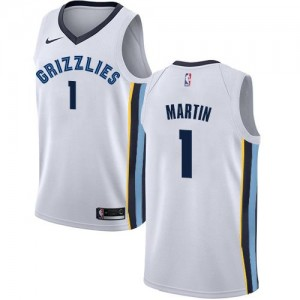 Nike Maillot Jarell Martin Grizzlies No.1 Enfant Association Edition Blanc