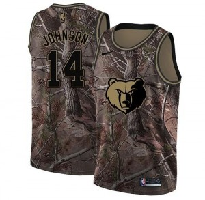 Maillot De Brice Johnson Memphis Grizzlies Camouflage No.14 Realtree Collection Nike Homme