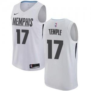 Maillots De Garrett Temple Memphis Grizzlies Homme No.17 Blanc Nike City Edition