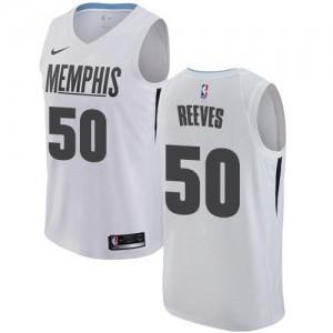 Nike Maillots De Basket Bryant Reeves Memphis Grizzlies #50 Blanc City Edition Enfant