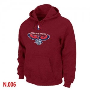 Sweat à capuche Hawks Homme Rouge Pullover