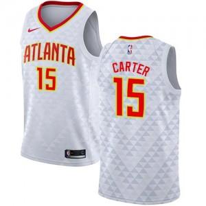 Maillot Basket Vince Carter Atlanta Hawks Association Edition Blanc Nike Enfant #15