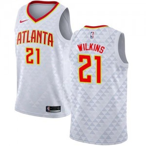 Nike NBA Maillot Wilkins Hawks #21 Association Edition Blanc Enfant