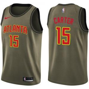 Maillots De Basket Carter Atlanta Hawks Nike Homme Salute to Service vert No.15