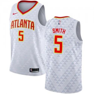 Nike NBA Maillot De Smith Hawks Enfant Association Edition No.5 Blanc