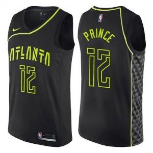 Nike Maillots De Prince Hawks Noir City Edition Enfant #12