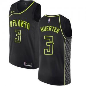 Nike Maillot De Basket Huerter Atlanta Hawks #3 City Edition Noir Enfant
