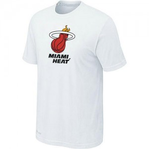 Tee-Shirt De Basket Heat Homme Big & Tall Primary Logo Blanc