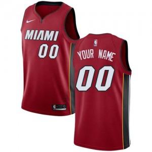 Nike Personnalisé Maillot Miami Heat Statement Edition Rouge Enfant