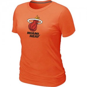 T-Shirt Heat Femme Big & Tall Primary Logo Orange