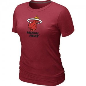 T-Shirt De Basket Miami Heat Femme Big & Tall Primary Logo Rouge