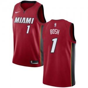 Nike NBA Maillot De Bosh Miami Heat Rouge Statement Edition #1 Homme