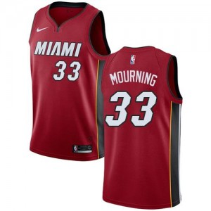 Nike Maillot De Basket Mourning Miami Heat Statement Edition #33 Rouge Homme
