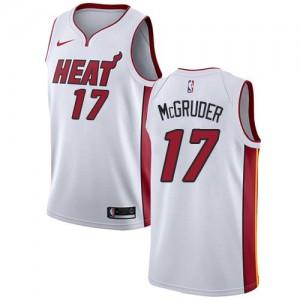 Nike NBA Maillots De McGruder Heat Blanc #17 Enfant Association Edition
