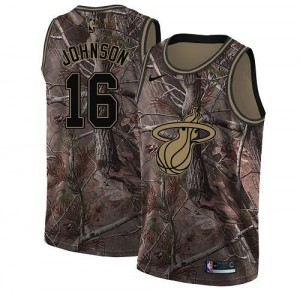 Nike NBA Maillot De Johnson Miami Heat Realtree Collection Camouflage #16 Homme