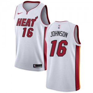 Nike Maillot James Johnson Heat Association Edition Enfant Blanc No.16
