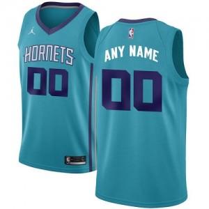 Jordan Brand NBA Maillot Personnalisé De Charlotte Hornets Homme Turquoise Icon Edition