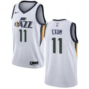 Nike Maillots De Basket Dante Exum Jazz Association Edition Blanc Enfant #11