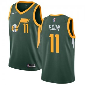 Nike NBA Maillot De Dante Exum Utah Jazz No.11 vert Earned Edition Enfant