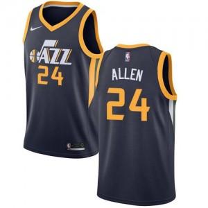 Maillot Basket Allen Utah Jazz Icon Edition Homme #24 bleu marine Nike