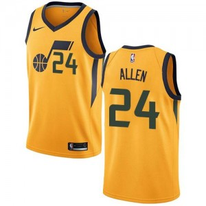 Nike NBA Maillots De Basket Grayson Allen Utah Jazz No.24 Statement Edition or Homme