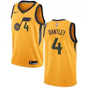 Maillot Adrian Dantley Utah Jazz or Nike Enfant Statement Edition No.4
