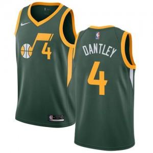 Nike Maillots De Dantley Jazz vert Earned Edition Enfant #4