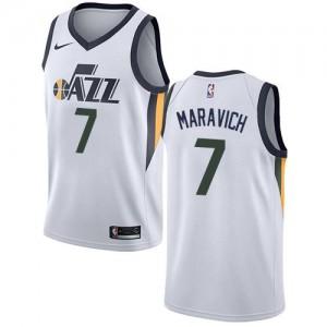 Maillot De Maravich Utah Jazz Association Edition Blanc #7 Enfant Nike