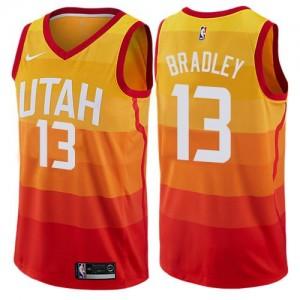 Maillot De Bradley Jazz City Edition Nike #13 Orange Enfant