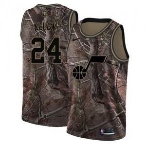 Maillots Allen Jazz Camouflage #24 Nike Homme Realtree Collection