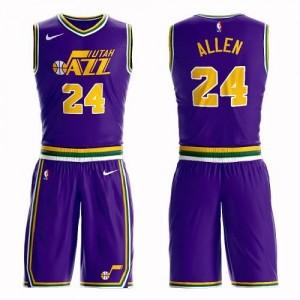 Nike Maillot Allen Jazz Homme Violet Suit #24