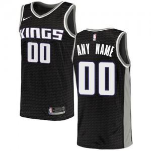Nike NBA Personnalisable Maillot De Sacramento Kings Noir Homme Statement Edition