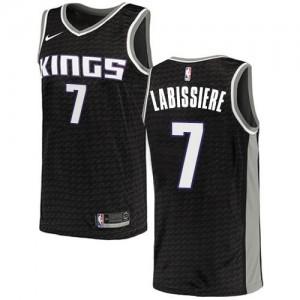 Nike NBA Maillots De Labissiere Sacramento Kings Homme #7 Noir Statement Edition