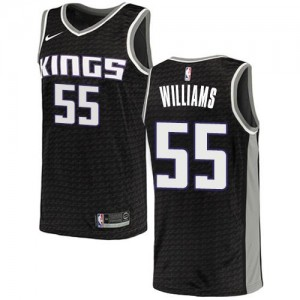 Nike Maillot Basket Jason Williams Sacramento Kings Statement Edition Noir Homme No.55