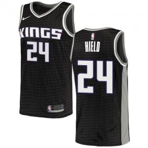 Nike Maillot De Hield Kings Homme No.24 Noir Statement Edition
