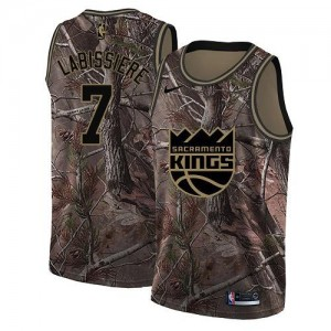Nike Maillot Basket Labissiere Sacramento Kings Realtree Collection Camouflage No.7 Homme