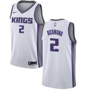 Nike Maillot De Richmond Sacramento Kings Blanc Association Edition Enfant No.2
