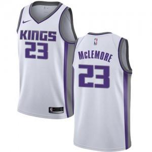 Nike Maillot Ben McLemore Sacramento Kings Blanc Homme Association Edition #23