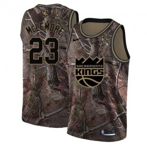 Maillot Ben McLemore Kings Camouflage Nike Enfant #23 Realtree Collection