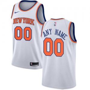 Nike NBA Maillot Personnalisé De Knicks Association Edition Homme Blanc