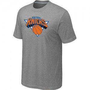 Tee-Shirt New York Knicks Homme Gris Big & Tall Primary Logo