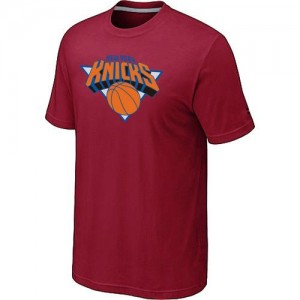 Tee-Shirt Basket Knicks Homme Rouge Big & Tall Primary Logo