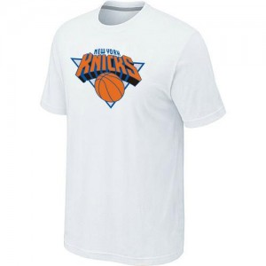 Tee-Shirt Knicks Blanc Homme Big & Tall Primary Logo