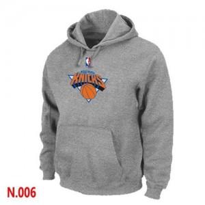 Hoodie Knicks Gris Pullover Homme