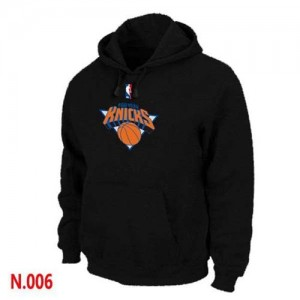 Hoodie Basket Knicks Pullover Noir Homme