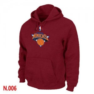 Hoodie De Knicks Homme Rouge Pullover