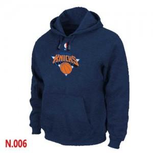 Hoodie Knicks Pullover bleu marine Homme